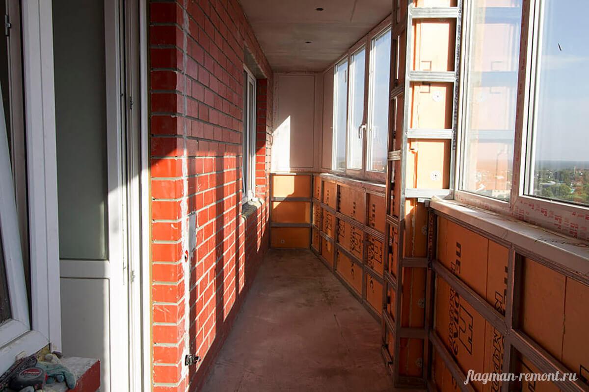 Ремонт балконов и лоджий - флагман ремонт.